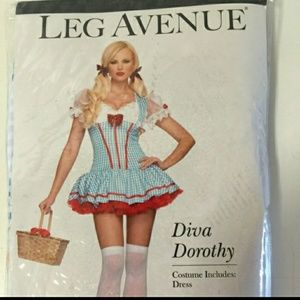 NWT Diva Dorothy Costume size small/medium